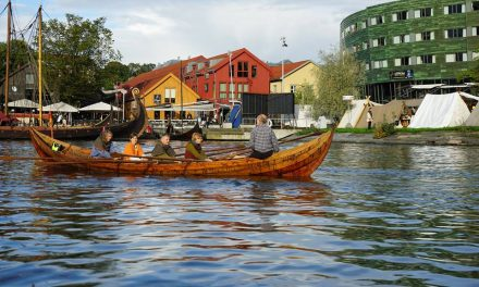 Ro vikingbåt